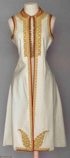 Woman's Regional Coat, Montenegro, 1900-1920, Augusta Auctions, April 9, 2014 - NYC, Lot 421