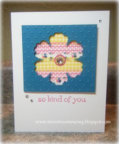 Stress-Free Stamping with Shana: washi tape card
