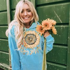 Every Hoodie Helps Rescue animals. The Paw Print is inside the sunflower. Every Dog Mom Deserves to SAVE THE DOGS in our hoodie! How To Pose, How To Do Yoga, Turquoise, Dog Mom, Cute Outfits, Casual Outfits, Girl Outfits, Fashion Outfits, Womens Fashion