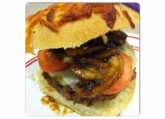 On Cloud Yum: BBQ Turkey Burgers w/ Mushrooms