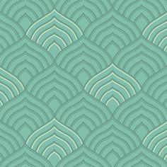 Art Deco pattern - Illustration by Tonielle Krisanski