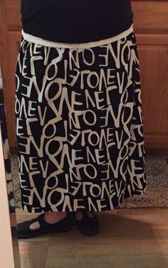 Fast maxi skirt