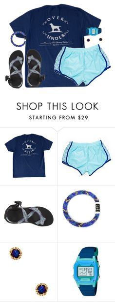 """Stay focused and extra sparkly✨"" by kaley-ii ❤ liked on Polyvore featuring CO, Chaco, Kendra Scott and Freestyle"