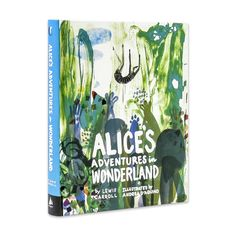 Beautiful new edition of Alice's Adventures in Wonderland, with illustrations by Andrea D'Aquino | Creative Review