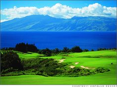 Kapalua Golf Course on Maui
