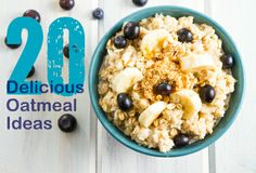 Ban the Boring #Oatmeal! 20 ways to turn ordinary oats into something special | via @SparkPeople