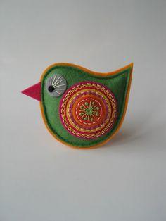 brož ptáček-