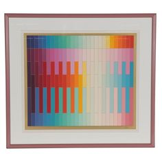 Museum Of Modern Art, Art Museum, Yaacov Agam, Kinetic Art, Second Hand Clothes, Lambskin Leather, Optical Illusions, Wall Art Decor, Contemporary Art