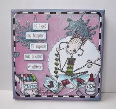 Stampotique Designer's Blog    Love this!  Great stamps