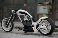 #Thunderbike Smoothless Highneck Custombike #Harley #Motorcycle