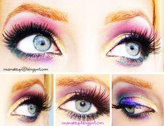 Mardis Gras makeup look