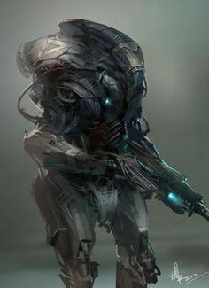 #sci-fi #illustration #sketch #digital-art #2d-digital #painting #art