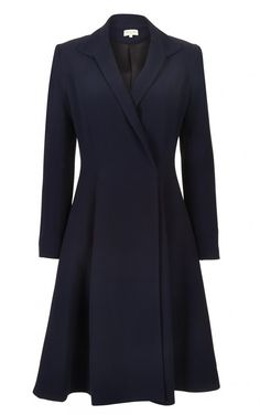 Absolutely gorgeous Chiara - Navy coat dress from Beulah London. I think  the Duchess of Cambridge could add this to her closet! e265c4cb8