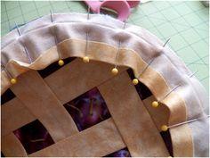 Pie Potholders ~ tutorial