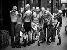 Shooting skinheads: Derek Ridgers captures a cult –in pictures                                                                                                                                                                                 More