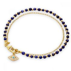 One day... evil eye friendship bracelet from Astley Clarke.