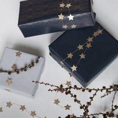 Vánoční papírová girlanda Star