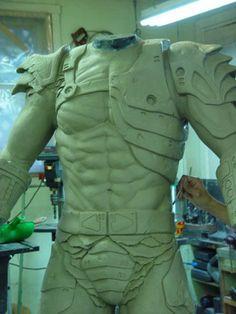 Predator suit sculpt by ArtNomad on DeviantArt