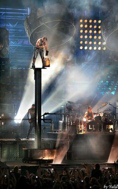 RAMMSTEIN On stage.. #metal #rockbands #heavymetal http://www.pinterest.com/TheHitman14/musician-punkmetal-%2B/