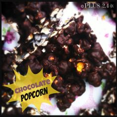 Movie Night Chocolate Popcorn