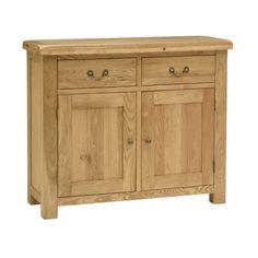 Kingsley Oak Small 2 Door Sideboard (K505) with Free Delivery | The Cotswold Company