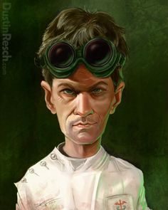 Dr. Horrible Caricature by Dustin Resch