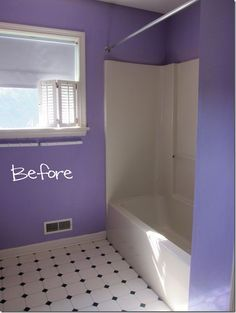 Bathroom Makeover–How to Add Decorative Molding to a Bathtub