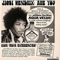 Aqua Velva has that manly scent