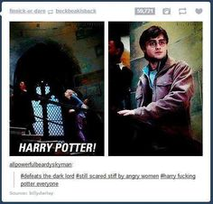 Harry Freaking Potter everyone.