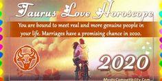 Taurus Love Horoscope 2020 – Love & Relationship Predictions