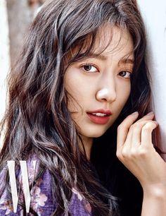 Park Shin Hye Wears Eclectic Designs for W Korea's August Issue Park Shin Hye, The Heirs, Korean Actresses, Korean Actors, Korean Beauty, Asian Beauty, Asian Celebrities, Celebs, W Korea