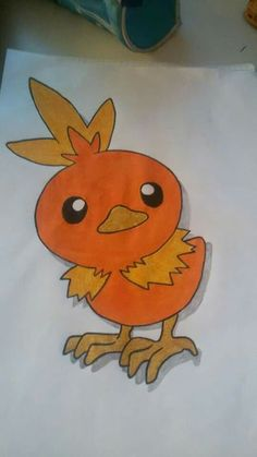 Torchic.  -Pokèmon.