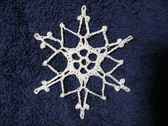Ravelry: Star Snowflake by Coats & Clark