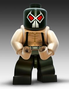 My boyfriend does some really great character impressions. The other day he did a hilarious impression of Bane from Batman! Here's a Lego Bane! Lego Batman 3, Bane Batman, Gotham, Lego Dc Comics, Lego Videos, Lego People, Lego Minifigs, Hero Wallpaper, Dark Knight