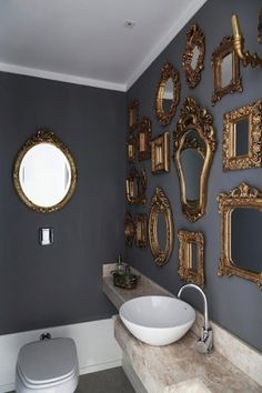 I like the mirrors..it is missing something ... another color..maybe the white is too bright.