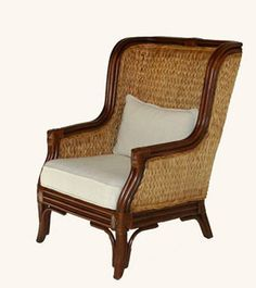 West Indies Home Collection - Caribbean Wingback Chair (http://stores.westindieshome.com/caribbean-wingback-chair/)