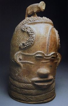 Lydenburg Head Eastern Transvaal, South Africa, c. 500-700, clay; traces of white pigment and specularite 38 × 26 × 25.5 cm University of Cape Town Collection at the South Africa Museum, Cape Town