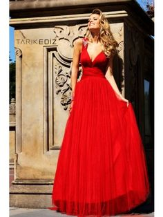 Tarik Ediz 92164 Evening Gown Love the style of this gown!