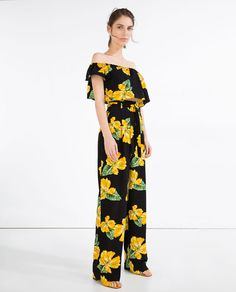 Image 1 of FLOWING TROUSERS from Zara