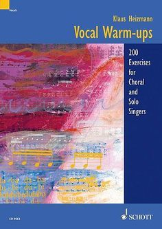 Shop and Buy Vocal Warm-ups sheet music. Choral, Chorus, Vocal, Voice sheet music book by Klaus Heizmann: Schott Music at Sheet Music Plus: The World Largest Selection of Sheet Music. Singing Lessons, Singing Tips, Learn Singing, Vocal Lessons, Vocal Warm Up Exercises, Creativity Exercises, Audio, Workout Warm Up, Sheet Music