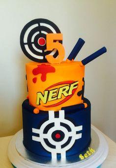 Идей на тему «Nerf Cake в Pinterest»: 17 лучших | Нерф, Торты из ...