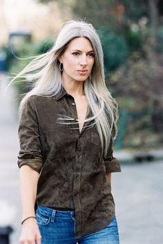 Vanessa Jackman: Paris Fashion Week SS 2015....Sarah