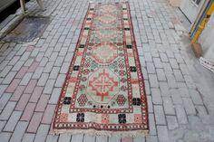 Anatolian Antique Kars Runner- Hall Rug by NotonlyRugs on Etsy
