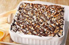 Warm Triple-Chocolate Pudding Cake Recipe