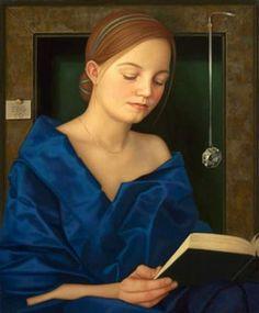DE GROOT Ellen - Dutch (Groningen °1959) - O vestido azul