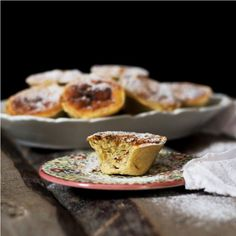 Sweet Potato and Almonds Tarts. I liked the result of an earlier recipe so much, that I also made these small tarts very similar.