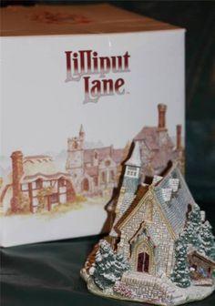 "RARE Lillliput Lane Christmas Cottage ""Holy Night"""