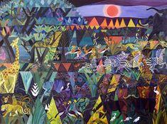One of my favorite Dahlov Ipcar paintings