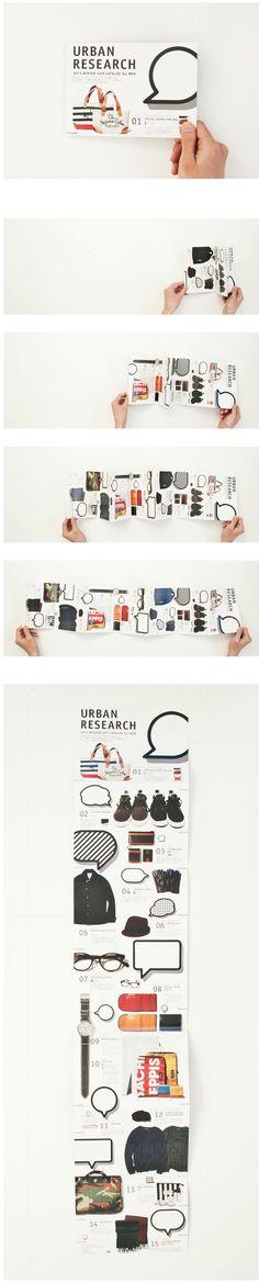 Urban Research 2011 Winter Gift Catalog For Men Dm Poster, Design Poster, Book Design, Posters, Brochure Layout, Brochure Design, Branding Design, Pamphlet Design, Leaflet Design