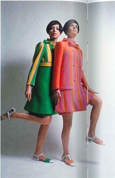 1966 cappotto e abiti di Emanuel Ungaro
